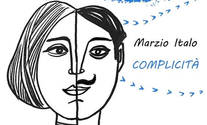 """Marzio Italo, cantapoeta nuovo singolo """"Complicità""""."""