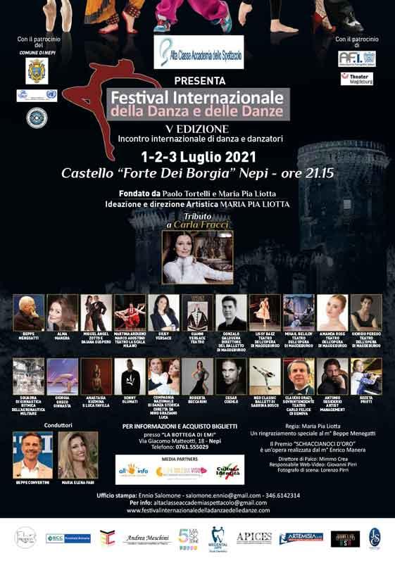 Nepi Castello dei Borgia Festival internazionale della Danza.