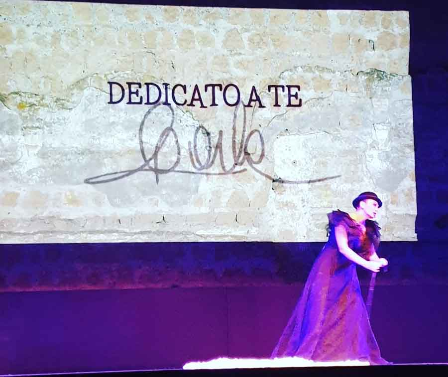 Carla Fracci il tributo di Alma Manera al Festival.