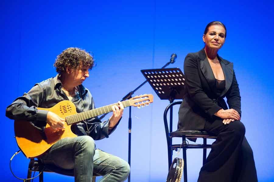 """Elena Bonelli in """"Roma Io ti racconto e canto"""""""