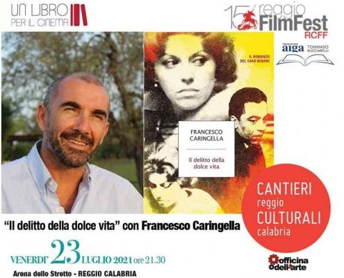 """Francesco Caringella presenta """"I delitti della Dolce Vita""""."""