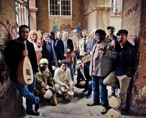 """""""Orchestra di Piazza Vittorio"""" al Parco di Casa Del Jazz"""