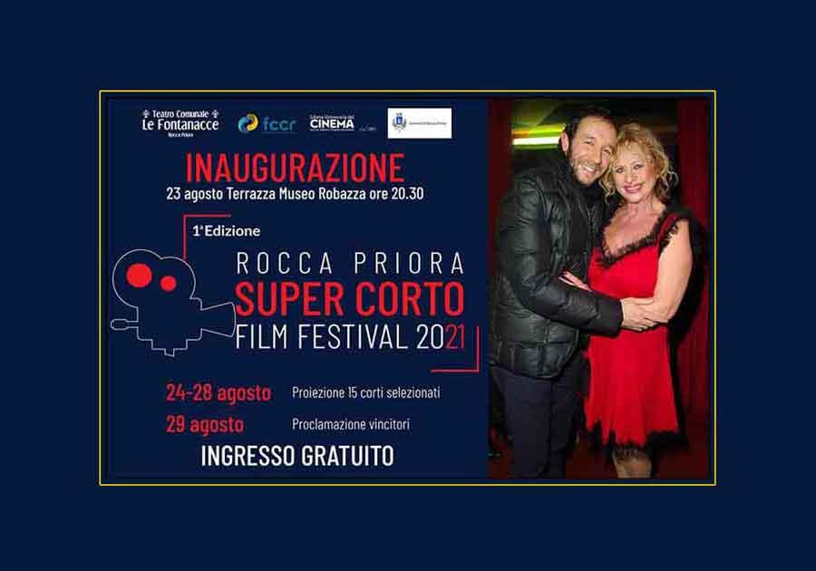 """""""Super corto Film Festival 2021"""" Rocca Priora,"""