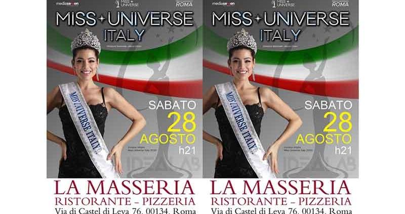 Miss Universe Lazio a La Masseria.