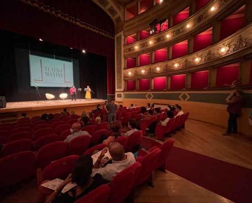 """Teatro Manini di Narni """"Stagione 2021/2022""""."""