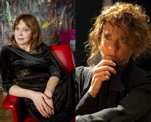 """Vivian Tommaso e Rita Marcotulli al """"Jazz & Image""""."""