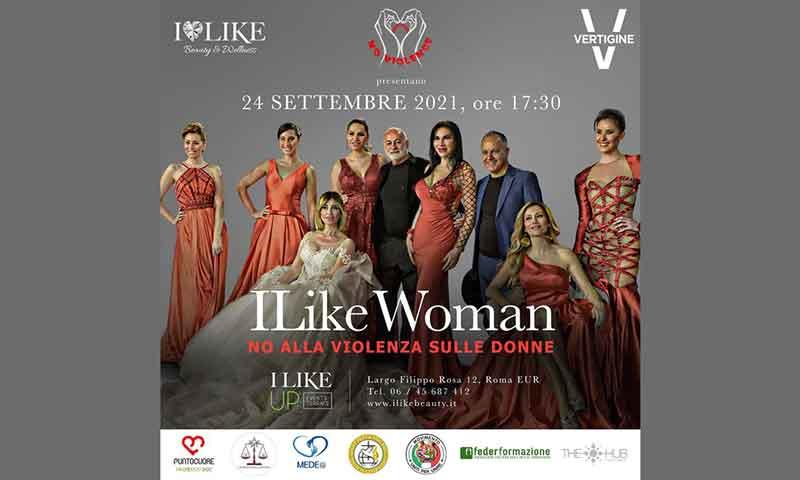 """iLike Woman """"No alla violenza sulle Donne""""."""