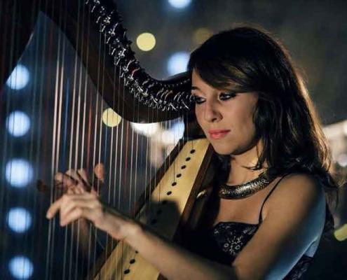 "Micol Arpa Rock Conservatorio ""O. Respighi"" di Latina."